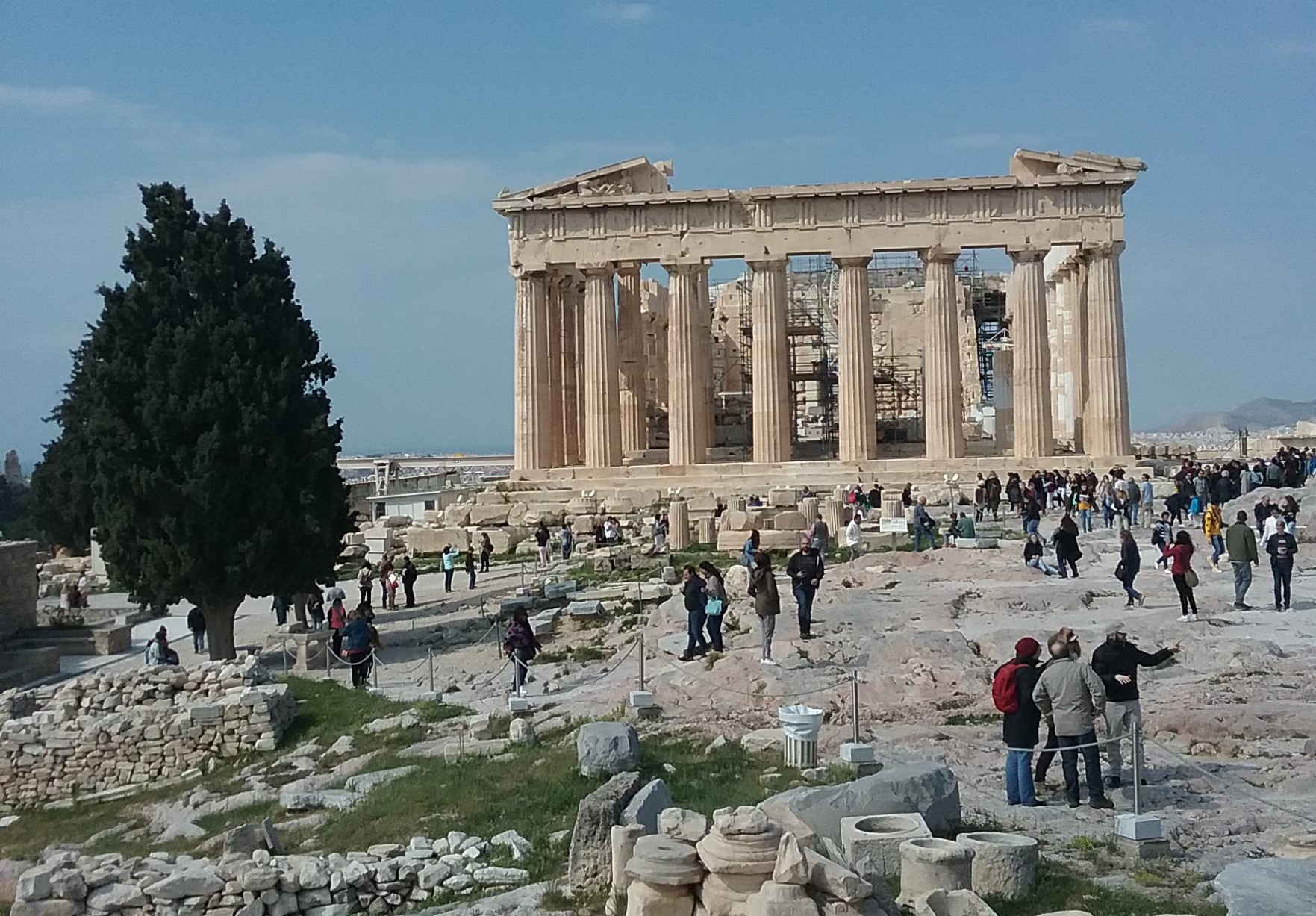 acropolis, athens - family travel sightseeing<br />