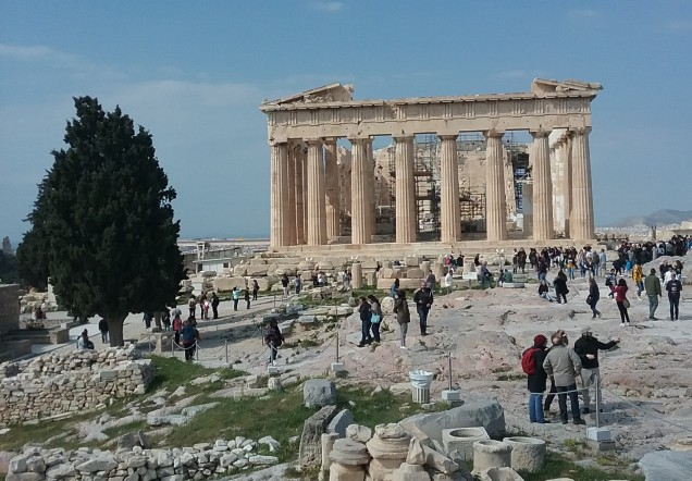 acropolis, athens - family travel sightseeing