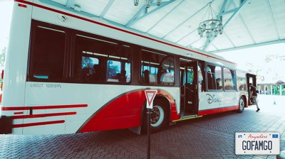 Disney shuttle bus to save money on transportation