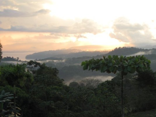 costa rica landscape - include time to ponder in your travel plans<br />