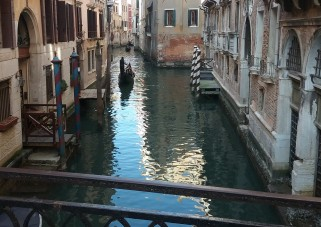 Venice, Italy during family travel