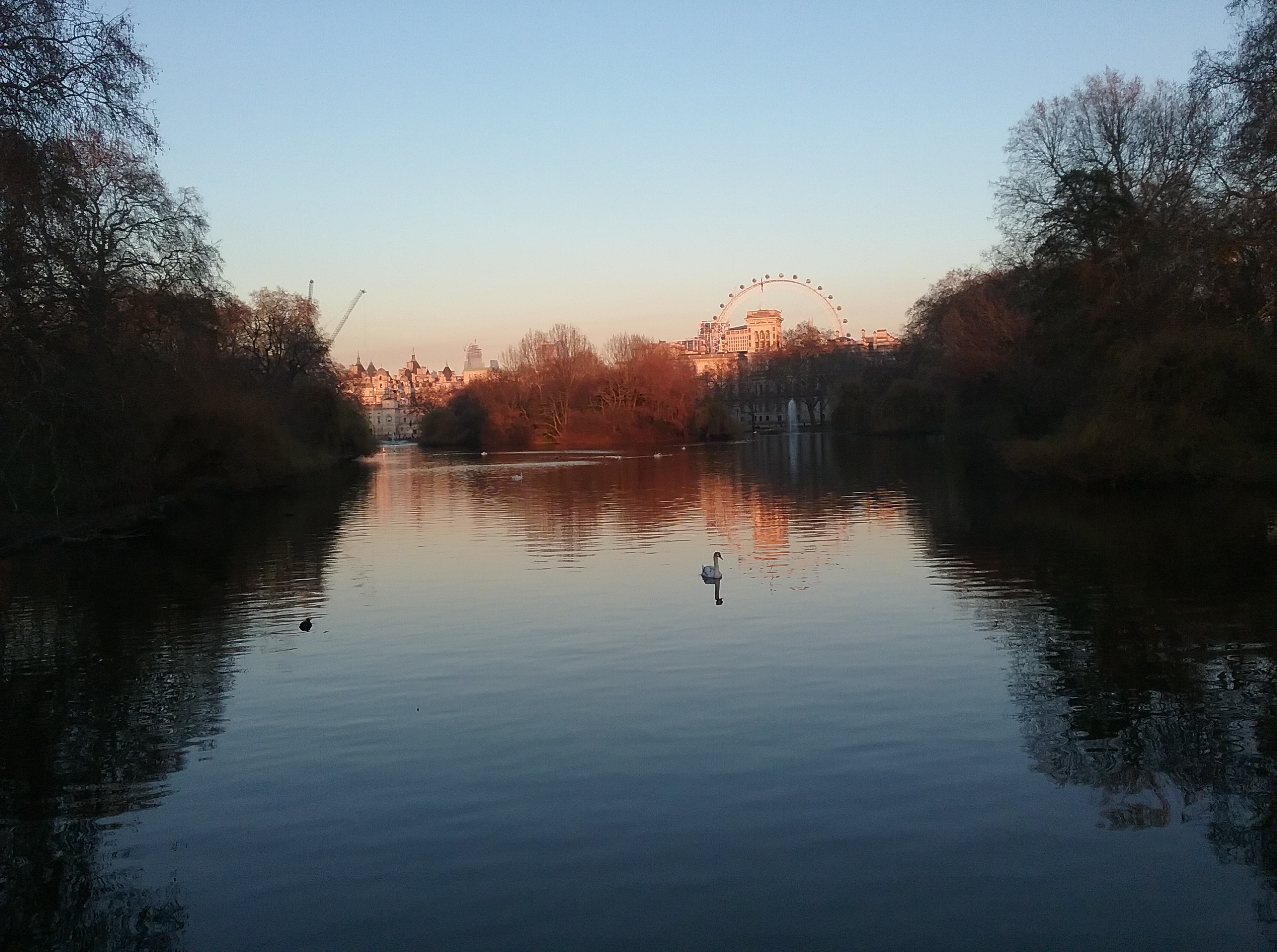 saint james park in london