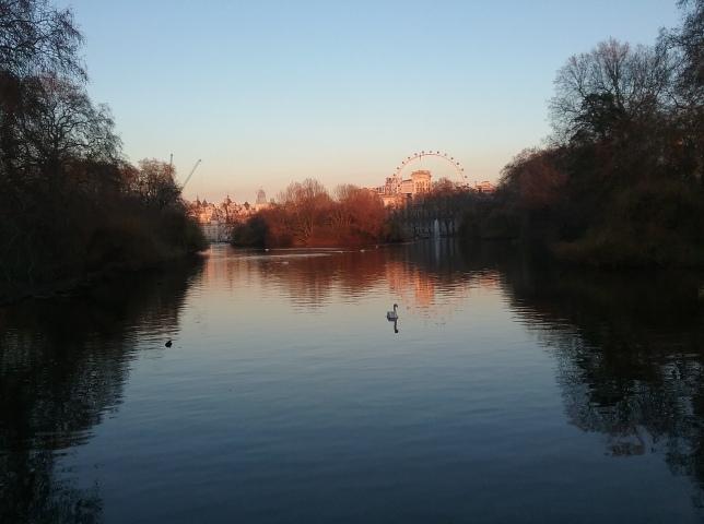saint james park in london