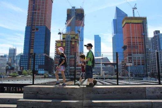 Exploring a big city